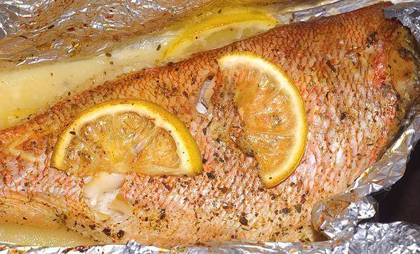 Как вкусно приготовить морского окуня в духовке