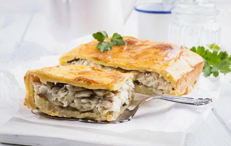Пирог из судака: рецепты