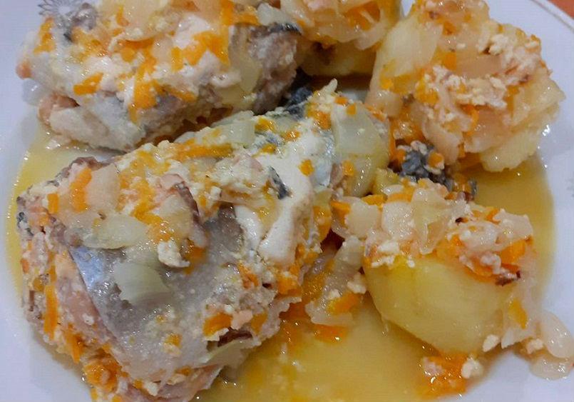 Горбуша тушеная - рецепты приготовления с фото